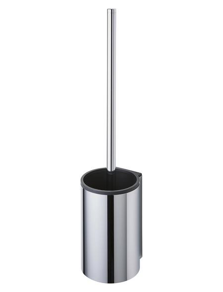 KEUCO WC-Bürsten & WC-Garnituren, Kunststoff, chromfarben/schwarz