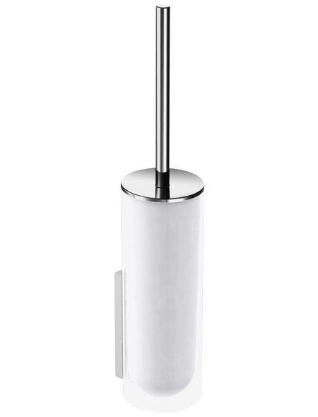 KEUCO WC-Bürsten & WC-Garnituren, Kunststoff/Glas, weiß/chromfarben