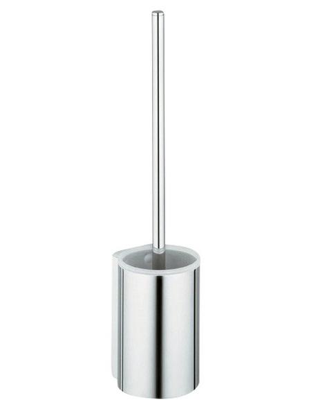 KEUCO WC-Bürsten & WC-Garnituren »Plan«, Höhe: 39,9 cm, silberfarben/aluminiumfarben
