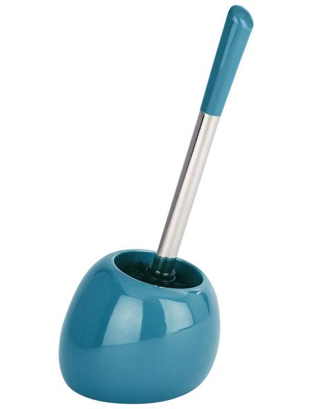 WENKO WC-Bürsten & WC-Garnituren »Polaris«, Höhe: 34,5  cm, petrolfarben