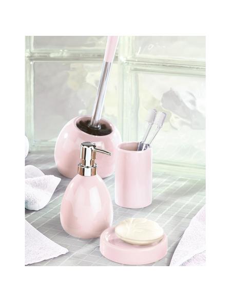 WENKO WC-Bürsten & WC-Garnituren »Polaris«, Höhe: 34,5 cm, rosa