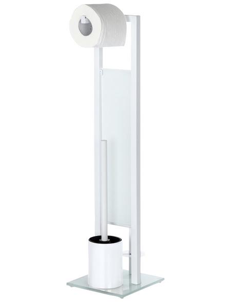 WENKO WC-Bürsten & WC-Garnituren »Rivalta«, Höhe: 70  cm, weiß