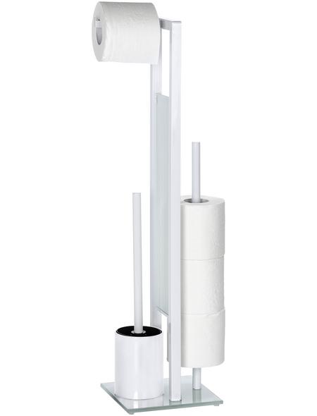 WENKO WC-Bürsten & WC-Garnituren »Rivalta«, Stahl, weiß