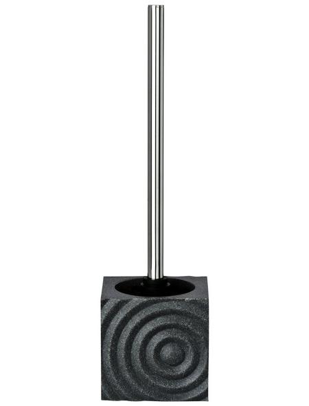 WENKO WC-Bürsten & WC-Garnituren »Signs«, Höhe: 37 cm, grau