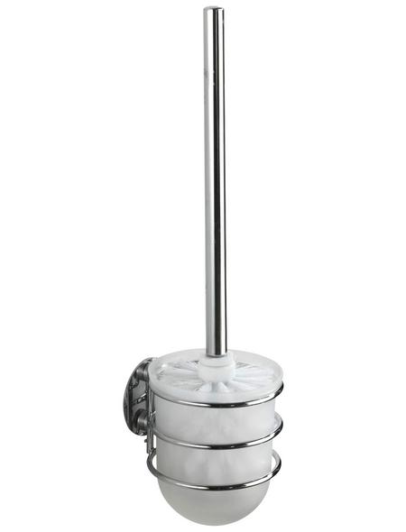 WENKO WC-Bürsten & WC-Garnituren »Turbo-loc®«, Höhe: 37,5 cm, weiss/chromfarben