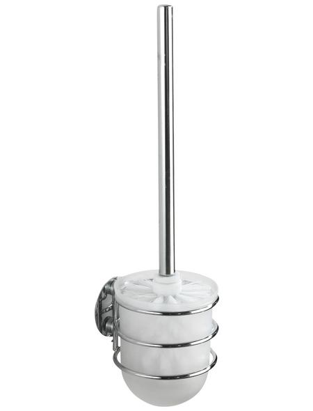 WENKO WC-Bürsten & WC-Garnituren »Turbo-Loc®«, Stahl, weiß
