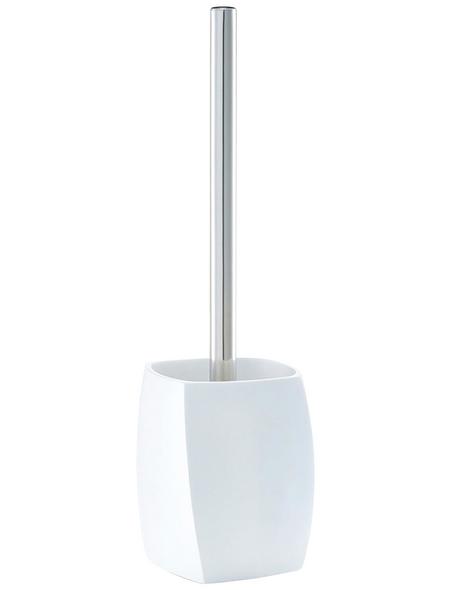 ZELLER WC-Bürsten & WC-Garnituren »Twisted«, Höhe: 36 cm, weiss/silberfarben