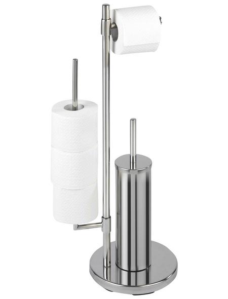 WENKO WC-Bürsten & WC-Garnituren »Universalo Neo«, Edelstahl, silberfarben
