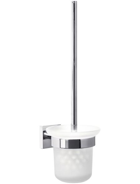 TESA WC-Bürstengarnitur »Ekkro«, Metall, metallfarben