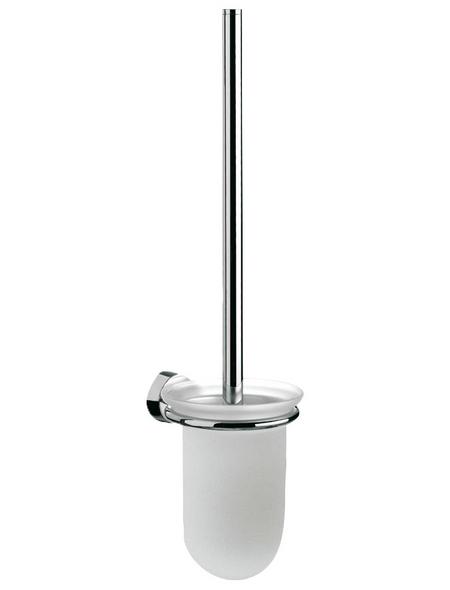 SANICOMFORT WC-Bürstengarnitur »Lifestyle 2000«, Höhe: 43,9 cm, verchromt