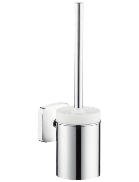 HANSGROHE WC-Bürstengarnitur »Puravida«, Höhe: 38,8 cm, weiss/verchromt