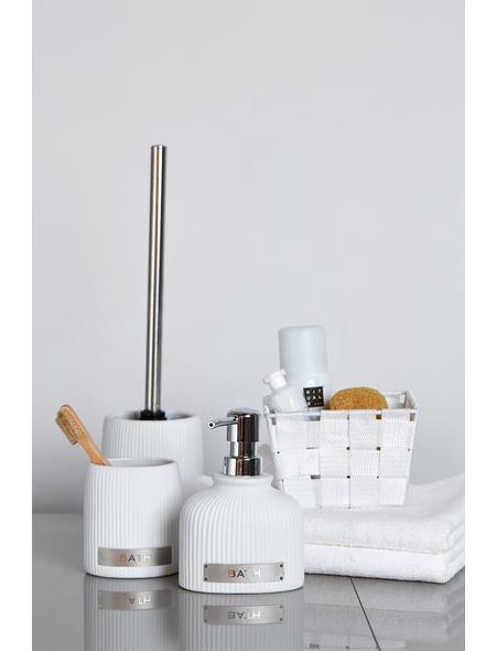 WENKO WC-Garnitur »Bath«, Keramik, weiß