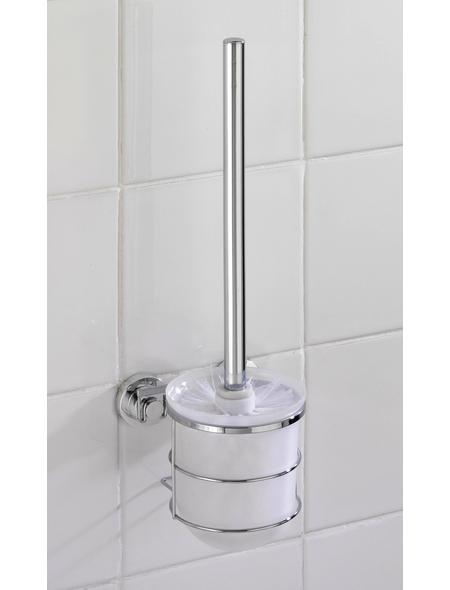 WENKO WC-Garnitur »Bovino«, Edelstahl, chromfarben