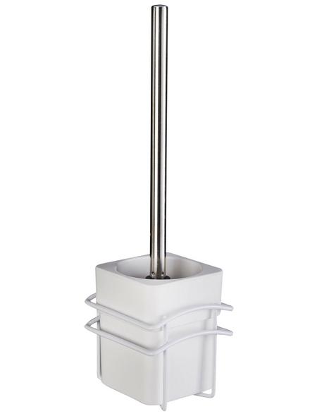 WENKO WC-Garnitur »Classic Plus «, Stahl, weiß
