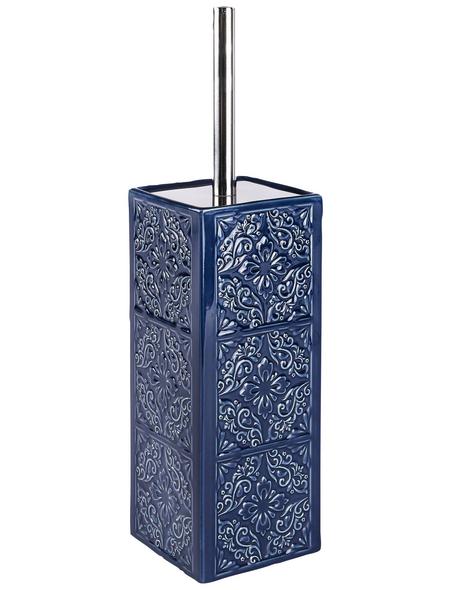 WENKO WC-Garnitur »Cordoba«, Keramik, dunkelblau