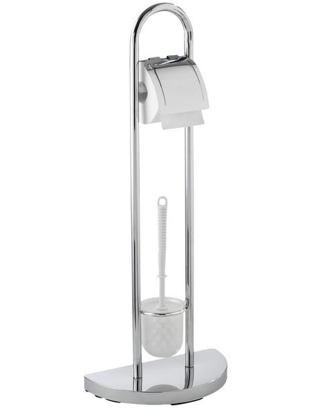 WENKO WC-Garnitur »Cosenza«, Stahl, chromfarben