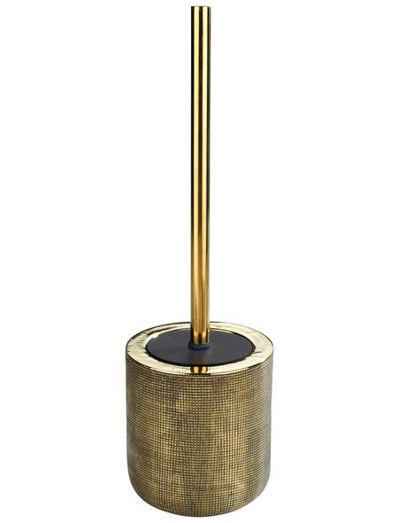 WENKO WC-Garnitur, Keramik, goldfarben
