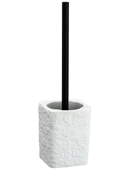 WENKO WC-Garnitur, Kunststoff, weiß