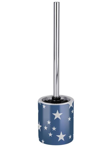 WENKO WC-Garnitur »Stella«, Keramik, blau