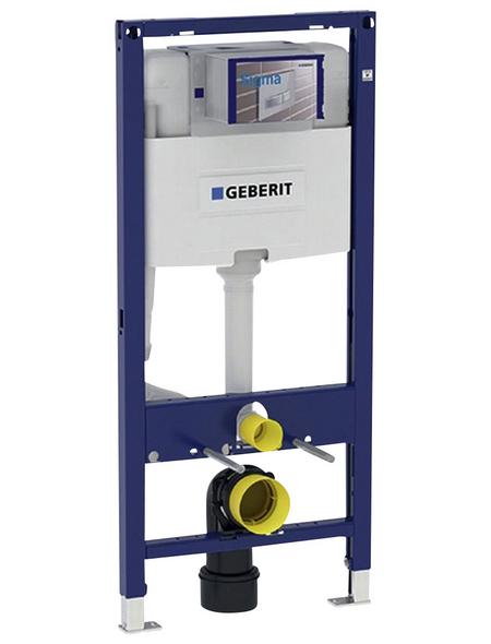 GEBERIT WC-Montageelement »Duofix«, BxHxT: 500 x 1120 x 120 mm, 2-Mengen-Technik, blau