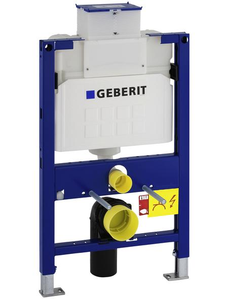 GEBERIT WC-Montageelement »Duofix«, BxHxT: 500 x 980 x 170 mm, 2-Mengen-Technik, blau