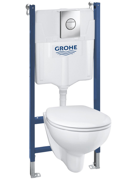 GROHE WC-Set »Solido Compact«, alpinweiß, Spülrandlos