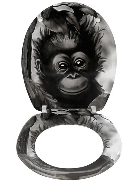 WENKO WC-Sitz »Affe«, Tiere