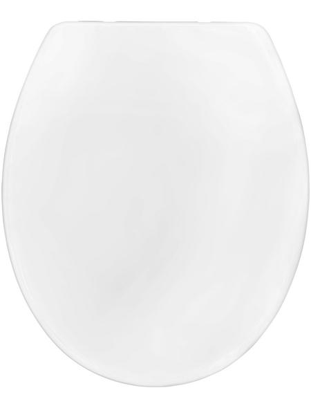 CORNAT WC-Sitz »ANETO«, Duroplast, D-Form, mit Softclose-Funktion
