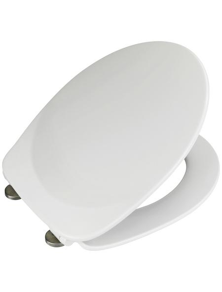 WENKO WC-Sitz »Armonia« aus Duroplast,  oval mit Softclose-Funktion