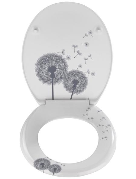 WENKO WC-Sitz »Astera«, Blumen