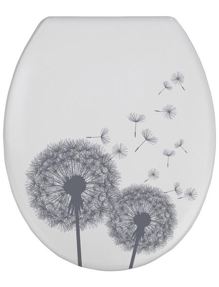 WENKO WC-Sitz »Astera«, Duroplast, oval, mit Softclose-Funktion