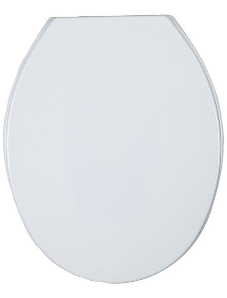 WENKO WC-Sitz »Aurora«, Thermoplast, oval