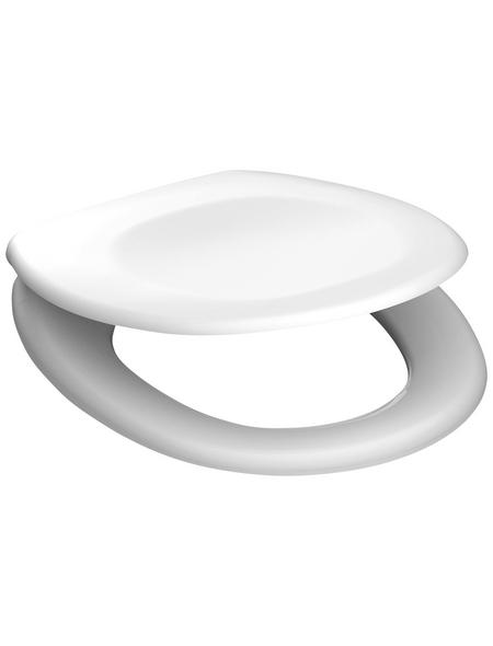 SCHÜTTE WC-Sitz aus Duroplast,  oval