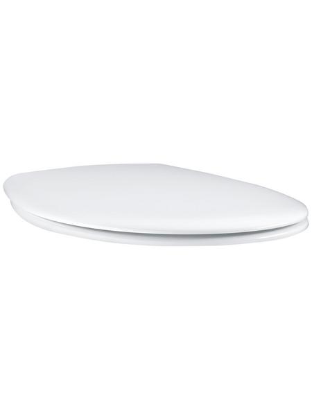 GROHE WC-Sitz aus Duroplast,  oval mit Softclose-Funktion