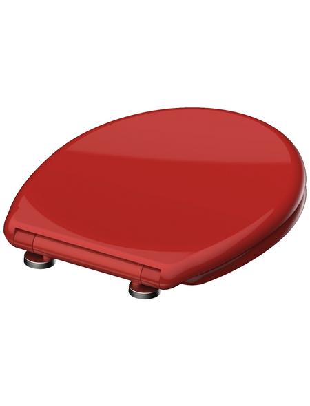 SCHÜTTE WC-Sitz aus Duroplast,  oval mit Softclose-Funktion