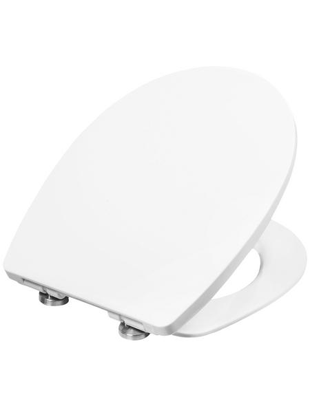 CORNAT WC-Sitz aus Thermoplast,  oval mit Softclose-Funktion