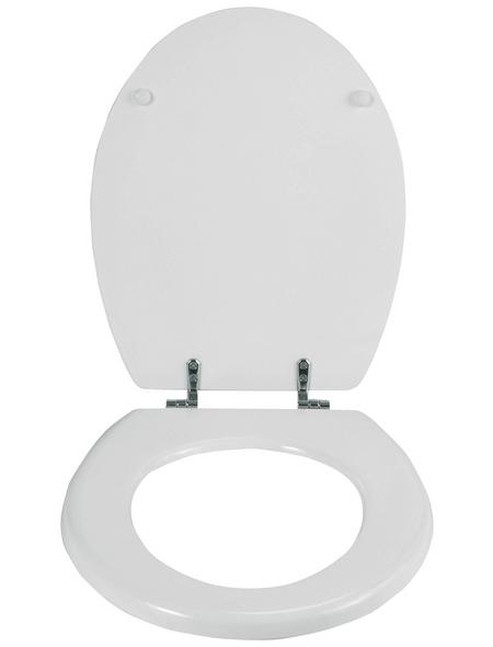 WENKO WC-Sitz »Bali«, MDF, oval