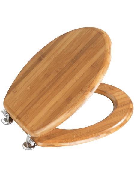 WENKO WC-Sitz »Bambus«