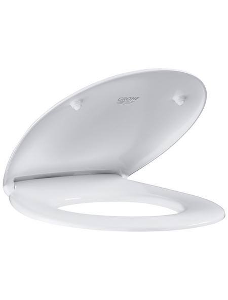 GROHE WC-Sitz »Bau Keramik« Duroplast,  oval