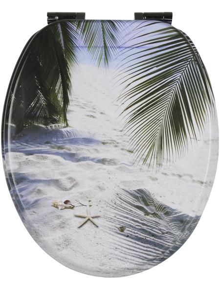 Sitzplatz® WC-Sitz »BEACH«, Strand