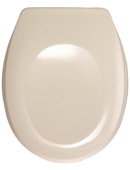 WENKO WC-Sitz »Bergamo«, Duroplast, oval