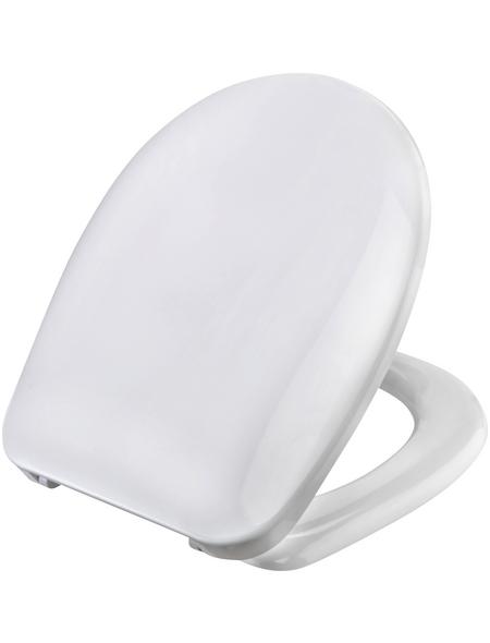 CORNAT WC-Sitz »BOBIA«, Duroplast, D-Form, mit Softclose-Funktion