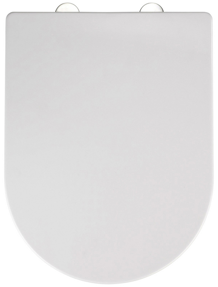 WENKO WC-Sitz »Calla«, Thermoplast, oval, mit Softclose-Funktion