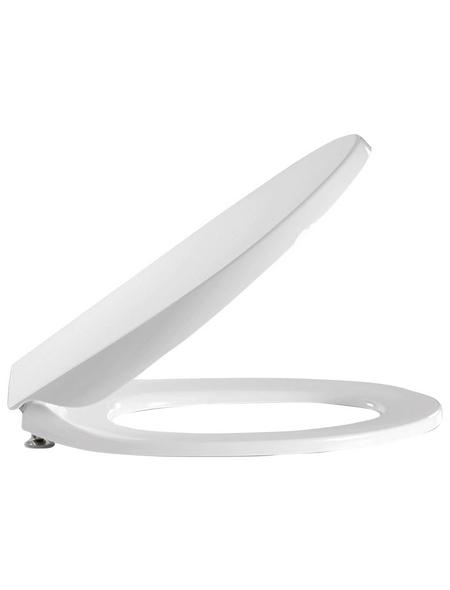 PRESSALIT® WC-Sitz »Calmo« Duroplast, oval mit Softclose-Funktion