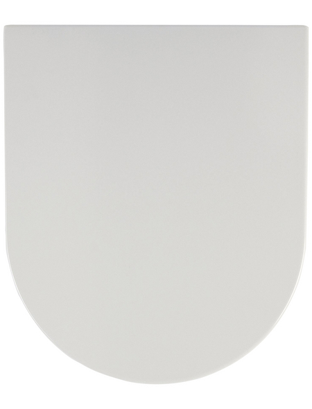 SANITOP-WINGENROTH WC-Sitz »City«, Duroplast, oval, mit Softclose-Funktion