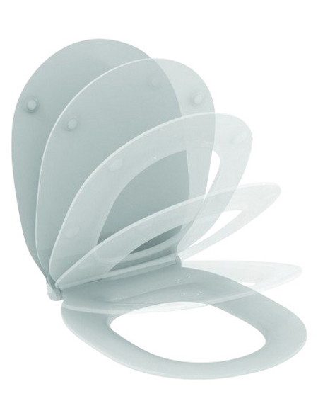 IDEAL STANDARD WC-Sitz »Connect Air Soft-Close « aus Duroplast, oval mit Softclose-Funktion