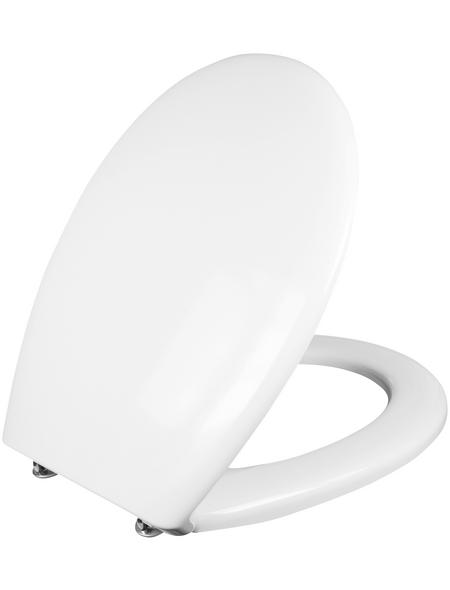 CORNAT WC-Sitz »CORTO« Duroplast,  oval