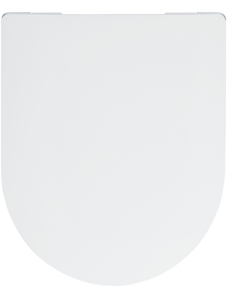 SANITOP-WINGENROTH WC-Sitz »Cubeno«, Duroplast, D-Form, mit Softclose-Funktion