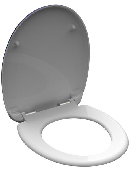 SCHÜTTE WC-Sitz »Deep Sea« aus Duroplast,  oval mit Softclose-Funktion