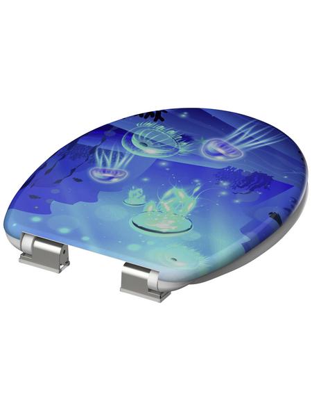 SCHÜTTE WC-Sitz »Deep Sea«, Unterwasserwelt Absenkautomatik